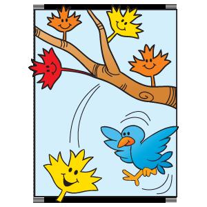 Seasonal Rhyme: leaves