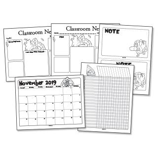 November Forms