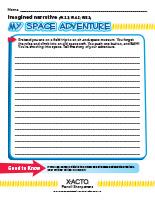 My Space Adventure