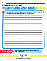 4 Food Facts and More