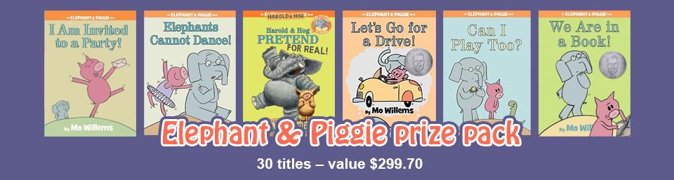Elephant & Piggie prize pack