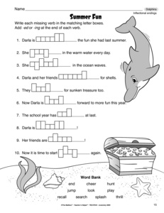Printables Inflectional Endings Worksheet results for inflectional endings worksheet guest the mailbox language arts endings