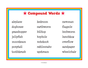 Results for compound words | Guest - The Mailbox
