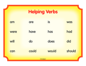 Results for helping verbs | Guest - The Mailbox