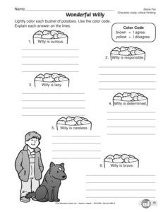 Printables Stone Fox Worksheets results for worksheets literature 3 guest the mailbox worksheet character analysis stone fox