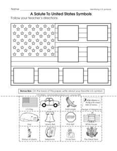 Printables American Symbols Worksheet results for american symbols guest the mailbox social studies worksheet patriotic symbols