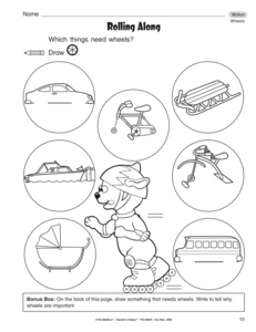 Printables Motion Worksheets results for force and motion worksheets guest the mailbox science worksheet wheels