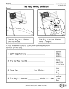 Printables American Symbols Worksheet results for american symbols guest the mailbox worksheet reading about symbols