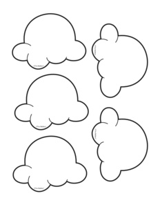 coloring pages of popcorn kernels - photo#6
