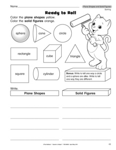 Plane Shapes Worksheet | Search Results | New Calendar Template Site