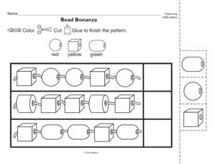 abb pattern worksheets kindergarten ab pattern worksheet gamersn1000 images about patterns. Black Bedroom Furniture Sets. Home Design Ideas