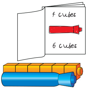 Measuring With Unifix Cubes