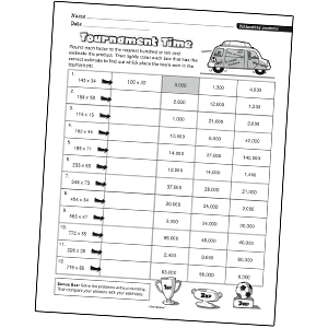 math worksheet : results for math worksheets  number and operations in base ten  : Base Ten Multiplication Worksheets