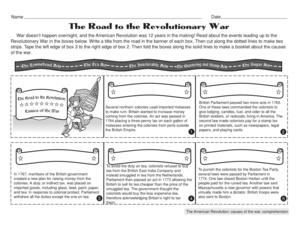 Printables American Revolution Worksheet results for american revolution worksheets guest the mailbox social studies worksheet causes of revolution