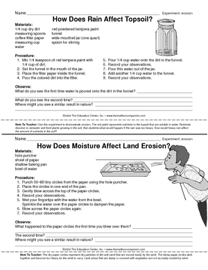 science worksheets on weathering and erosion 6th earth science weathering erosion. Black Bedroom Furniture Sets. Home Design Ideas