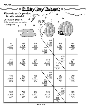 Common Worksheets » Mixed Addition And Subtraction With Regrouping ...