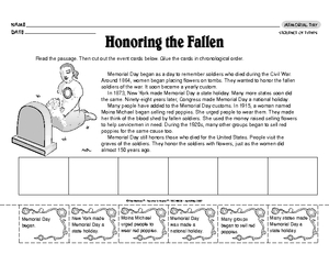 Printables Sequence Of Events Worksheet results for sequence worksheet ri 3 guest the mailbox memorial day of events