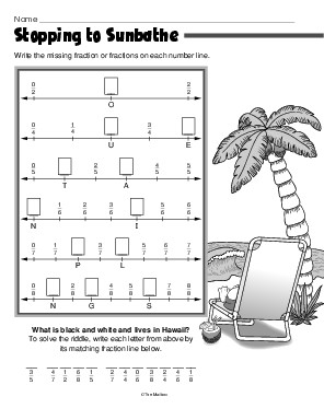 math worksheet : results for number line worksheet  guest  the mailbox : Fractions Number Line Worksheets