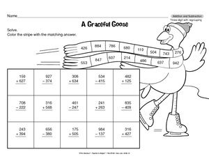 math worksheet : results for all products  math  2  3 nbt a 2  guest  the mailbox : Three Digit Subtraction With Regrouping Worksheet
