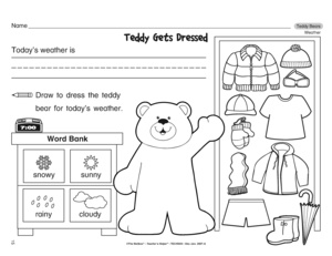 Worksheet Science Weather Worksheets results for weather kindergarten worksheet guest the mailbox science dressing weather