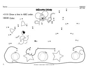 Worksheets Abc Worksheet results for preschool alphabet worksheets guest the mailbox halloween worksheet abc order rf k 1d