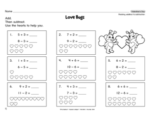 math worksheet : results for subtraction  guest  the mailbox : Relating Addition And Subtraction Worksheets