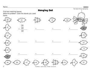 Counting Number worksheets » Worksheets For Addition Without ...