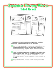 Search: September (worksheet) - The Mailbox