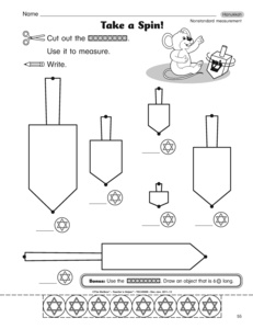 math worksheet : results for nonstandard measurement worksheets  guest  the mailbox : Non Standard Measurement Worksheets For Kindergarten
