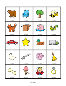 Results for rhyming picture cards | Guest - The Mailbox