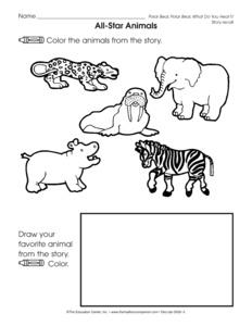 ... Student activity sheet polar bear polar bear what do you hear rl k 3