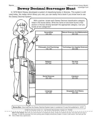 math worksheet : dewey decimal scavenger hunt lesson plans  the mailbox : Dewey Decimal System Worksheets