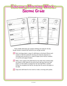 Search: February (worksheet) - The Mailbox