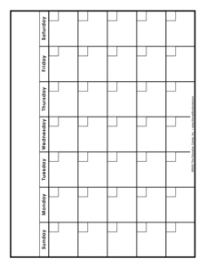 Results for blank calendars | Guest - The Mailbox