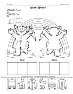 math worksheet : results for position words worksheet  guest  the mailbox : Positional Words Worksheets For Kindergarten