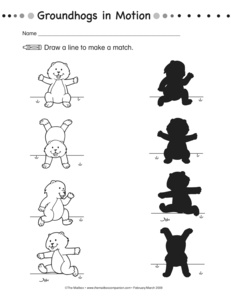 math worksheet : results for shadows  guest  the mailbox : Groundhog Day Worksheets Kindergarten