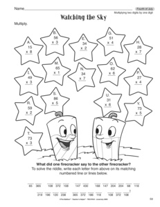 Two Digit By One Digit Multiplication Worksheets | ABITLIKETHIS