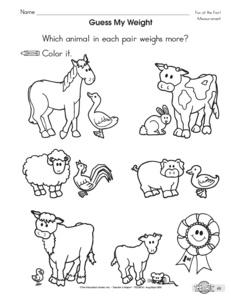 Results for kindergarten math worksheets | Preschool | K.MD.A.2 ...