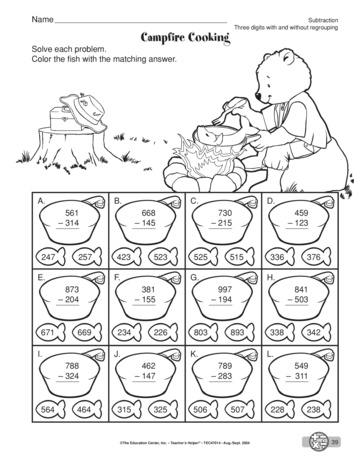 math worksheet : fun 3 digit subtraction with regrouping worksheets  subtraction  : Fun Subtraction With Regrouping Worksheets