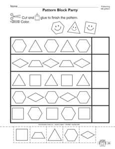 Results for ab pattern worksheet | Guest - The Mailbox