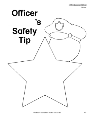 officer buckle and gloria coloring pages - photo #6