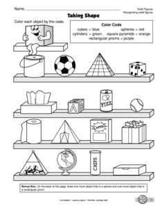 Printables Solid Shapes Worksheet results for solid shapes worksheets guest the mailbox math worksheet recognizing figures