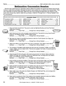 math worksheet : results for worksheets  4  5 nbt b 7  guest  the mailbox : Making Change Math Worksheets