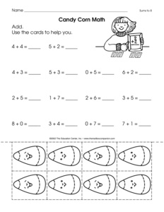 search corn  page   the mailbox halloween worksheet addition to  with
