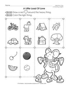 comparing weight worksheets for kindergarten weight measurement worksheets kindergarten heavy. Black Bedroom Furniture Sets. Home Design Ideas