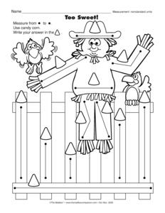 nonstandard measurement worksheets kindergarten ccss 2 md 1 worksheets measuring. Black Bedroom Furniture Sets. Home Design Ideas