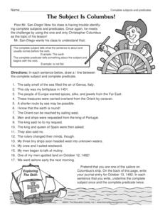 English teaching worksheets: Columbus Day