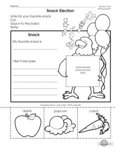 voting worksheets for kids wiildcreative. Black Bedroom Furniture Sets. Home Design Ideas