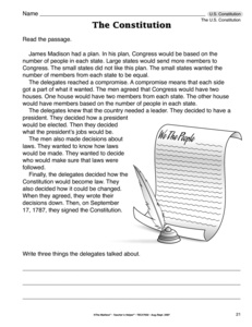 Printables Constitution Day Worksheets results for constitution guest the mailbox day worksheet u s constitution