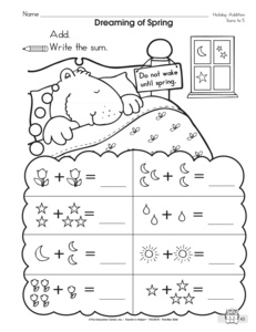 Search valentines worksheets page 439 the mailbox groundhog day worksheet addition to 5 with ibookread Download